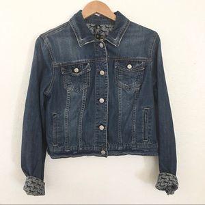 Aeropostale Pretty Little Liars denim jean jacket